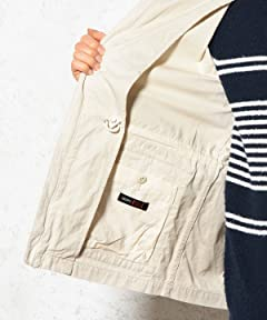 Beste Duck Field Parka 3225-199-1868: Off White