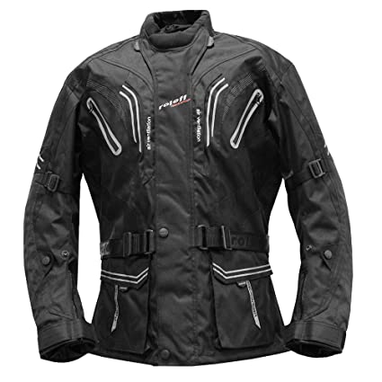 Roleff Racewear 5156 Blouson de Moto Lima Noir
