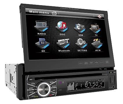 Power Acoustik PTID-8920 Autoradio CD/DVD 1 x USB Noir