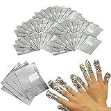 INHDBOX 200 Nail Art Soak Off Removal Gel/Polish/Acrylic/Shellac Foil Wraps (Color: 200PCS)