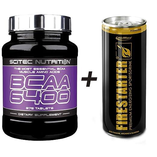 Scitec Nutrition BCAA 6400 - 375 Tabs Aminosäure + Energy Drink