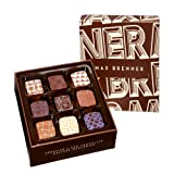 Max Brenner's Chocolate 9 piece Bonbons: Crowned Collection of Bonbons in French Tradition: 9 Flavored Pieces in Milk, Dark, and White Chocolate 6.3 Oz Box