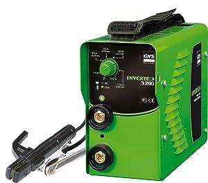 GYS ElektrodenSchweißgerät 130 A, grün, Inverter 3200  BaumarktKundenbewertung und weitere Informationen