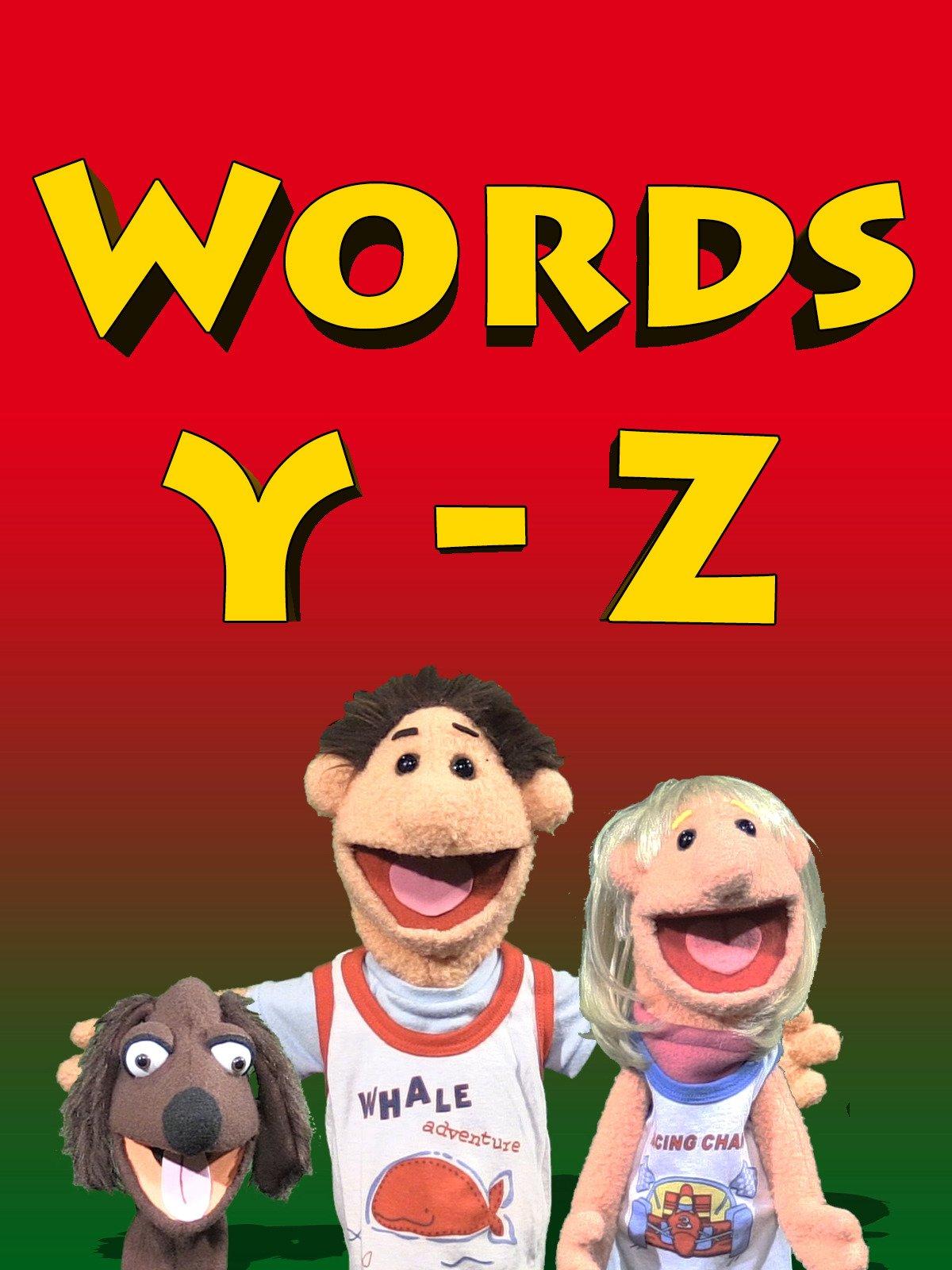 Words Y