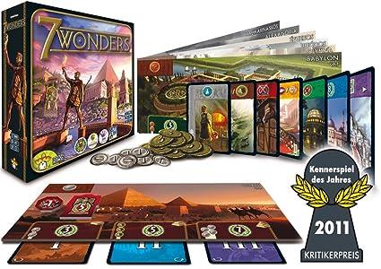 Asmodée Editions - 692053-7 Wonders - Jeu de l'année 2011 (Import Allemand - langue allemand)
