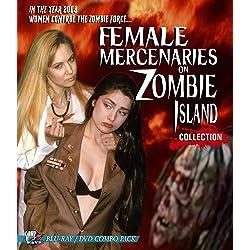 Female Mercenaries On Zombie Island Collection [Blu-ray]