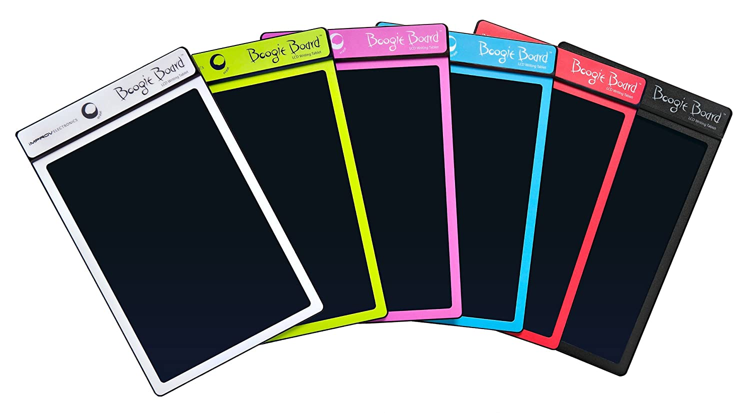 boogie board writing tablet walmart Features the boogie board rip lcd writing tablet combines an exceptional paper-like writing experience with the ability to save written or drawn images as files.