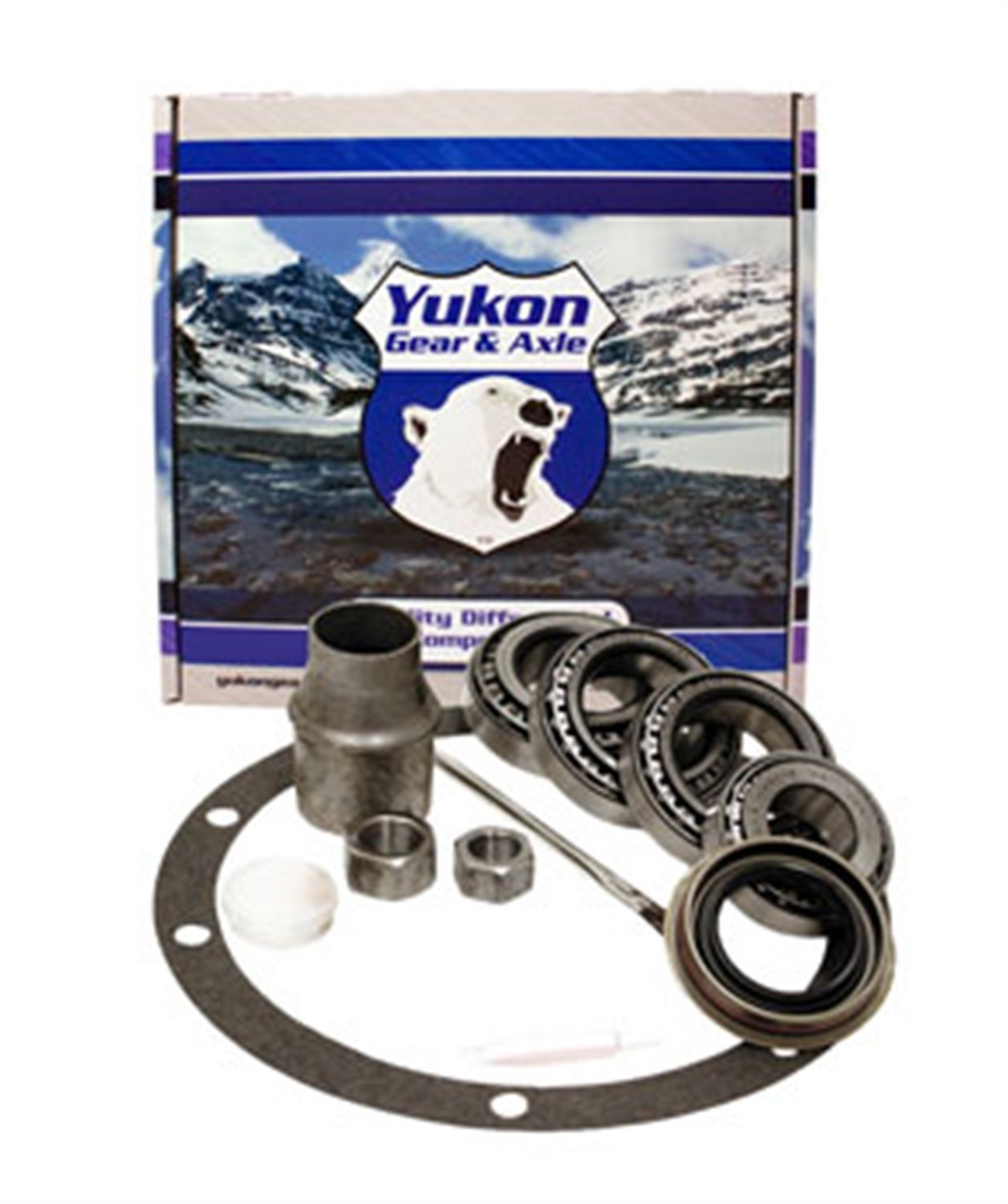 Yukon (BK GM7.2IFS-L) Bearing Installation Kit for GM S10/S15 IFS Differential