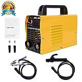 ARC Welding Machine, 110V, 200Amp Power, IGBT AC DC Beginner Welder Use Welding Rod Equipment Tools Accessories … (Color: Yellow)