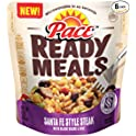 6-Pack Pace Ready Meals Steak with Black Beans & Rice