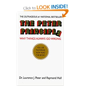 Amazon.com: The Peter Principle (9781568491615): Laurence J. Peter ...
