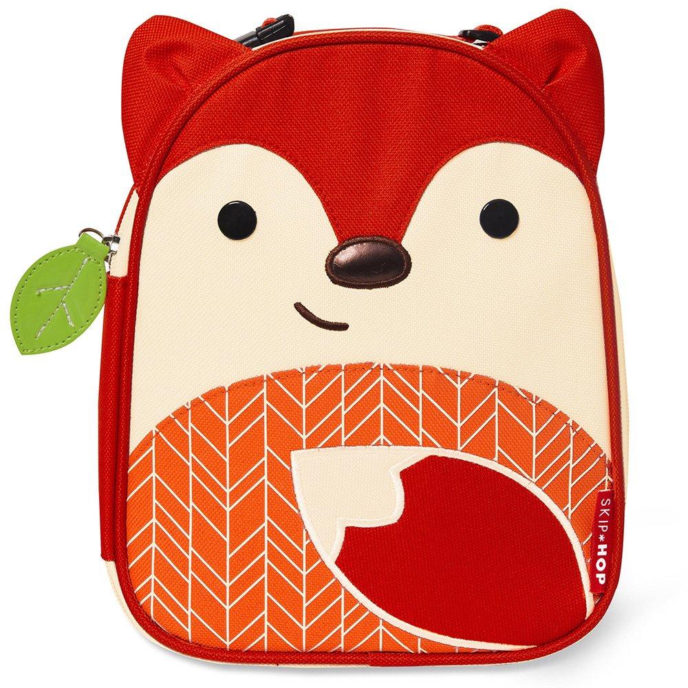 스킵합 애니멀 도시락 가방 11종 Skip Hop Zoo Kids Insulated Lunch Box, Ferguson Fox