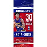 2017/18 Panini Hoops NBA Basketball HUGE Factory Sealed JUMBO FAT PACK with 30 Cards! Loaded with ROOKIES & INSERTS! Look for RC's & Autographs of Lonzo Ball, De'Aaron Fox Jayson Tatum, & Many More!