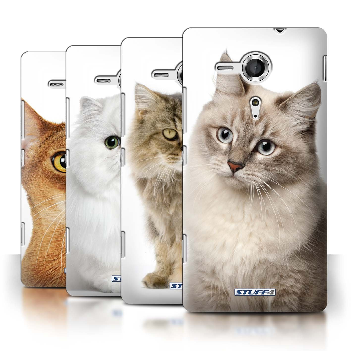 STUFF4 Phone Case / Cover for Sony Xperia SP/C5303 / Multipack / Cat Breeds CollectionCustomer reviews and more information