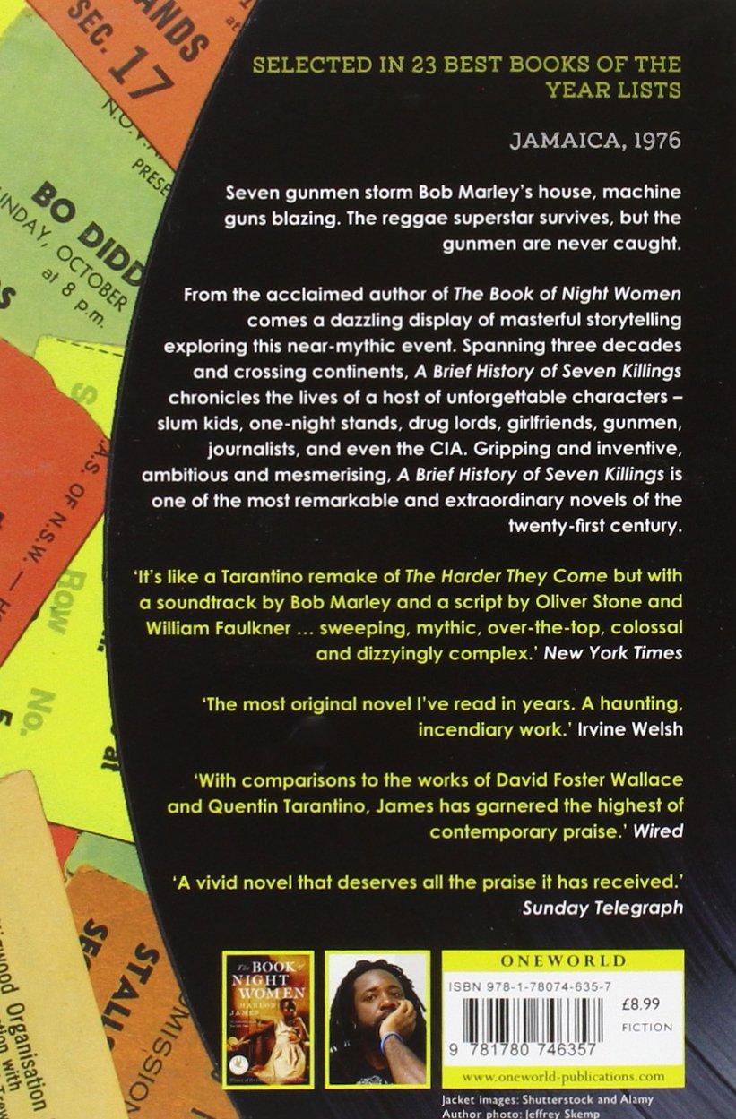 Buy A Brief History Of Seven Killings Book Online At Low Prices In India   A Brief History Of Seven Killings Reviews & Ratings  Amazon