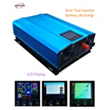 GTN-1000G24 Grid Tie Inverter 1000W for 24V battery discharge or PV 26v-45v pure sine wave power inverter (AC:220V(180V-260V)) (Tamaño: AC:220V(180V-260V))
