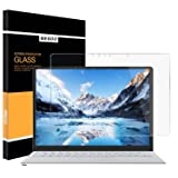 Megoo Surface Laptop 2 Screen Protector [Tempered Glass] 2018, Easy Installation Ultra Clear Anti-Scratch, Friendly Touching Screen Shield, Compatible for Microsoft Surface Laptop 2017-13.5 Inch (Color: 13.5