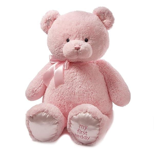Baby GUND My First Teddy Bear Jumbo Stuffed Animal Plush, Pink, 36 (Color: Pink, Tamaño: 36 Jumbo)