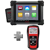 Autel Maxitpms 401+Autel Maxisys MS908 Automotive Diagnostic Scanner Tool and Analysis System with All Systems Diagnosis and Advanced Coding
