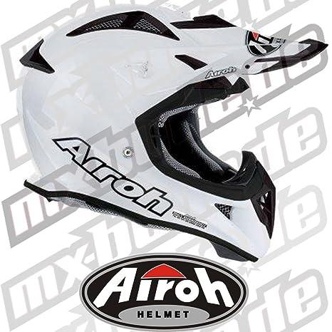 Airoh - Casque cross - AVIATOR - Couleur : Blanc Perlé - Taille : S