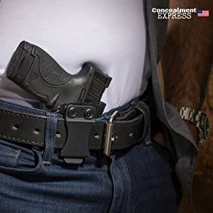 Concealment Express IWB KYDEX Holster: fits Smith & Wesson