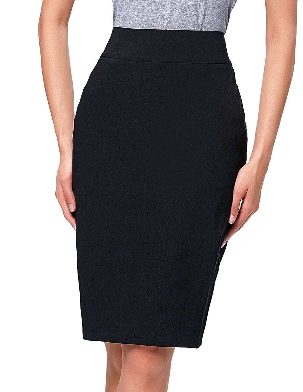 Kate Kasin®Women's Vintage Knee-Length Split Pencil Skirts 0