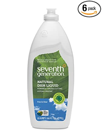 Amazon - 6 x Seventh Generation Dish Liquid, 25 oz - $14.04