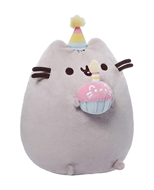 Amazon.com: GUND Pusheen Birthday Plush: Toys & Games