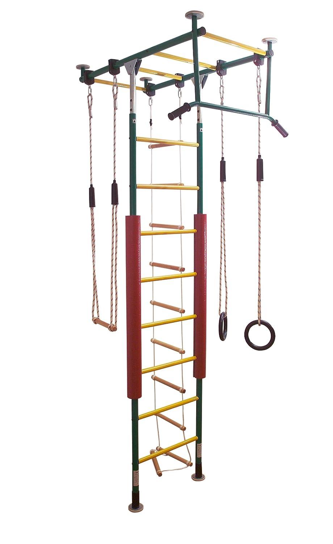Kletterdschungel Sprossenwand Indoor Klettergerüst, in vielen Varianten und Farben (zweifarbig) günstig bestellen