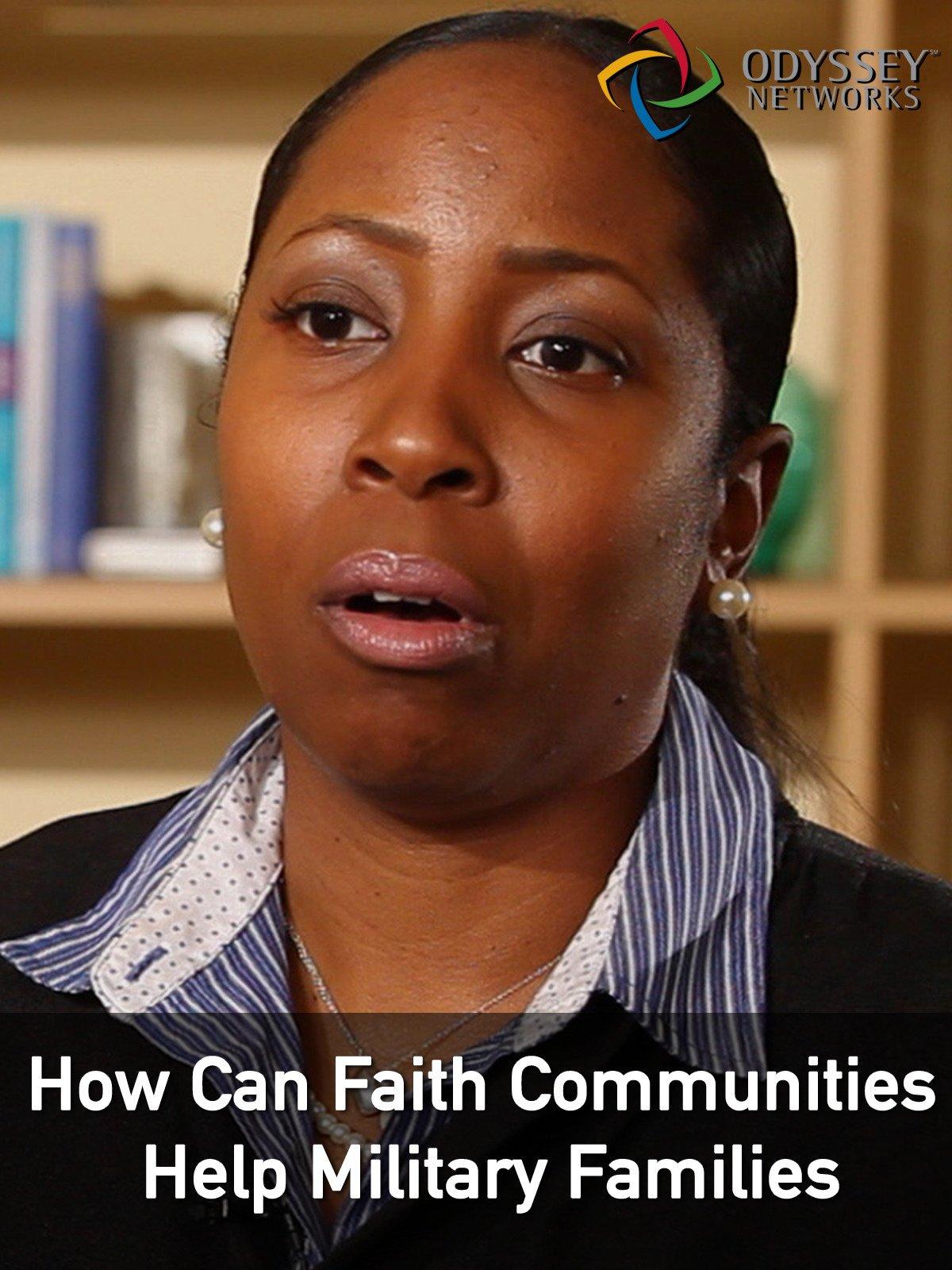 Clip: How Can Faith Communities Help Military Families