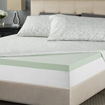 Zinus Sleep Master Memory Foam 2 Inch Mattress Topper Review