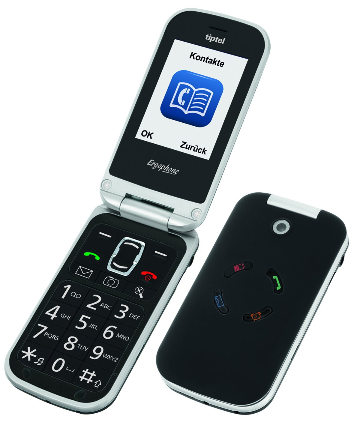 T�l�phone GSM TIPTEL ERGOPHONE 6020 NOIR
