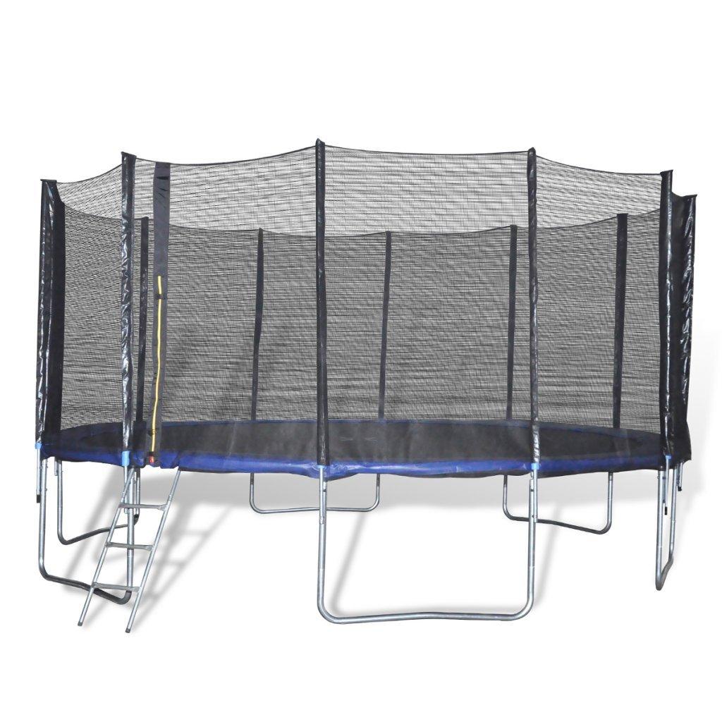 vidaXL Trampolin Gartentrampolin 4,90 m Set 6 Beine online kaufen