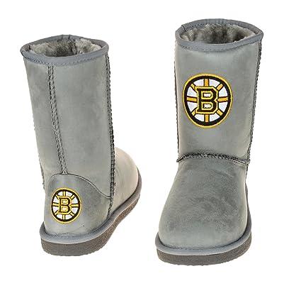 Amazon.com : Boston Bruins NHL Women's The Devotee Boot - Gray : Sports & Outdoors