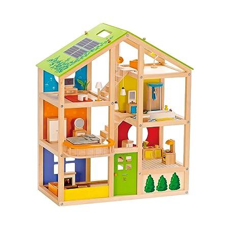 HAPE La maison des quatre saisons accessoires pour poupée, multicolore