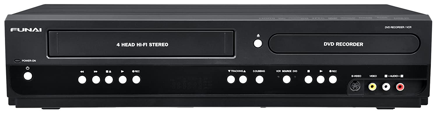 Amazon.com: Funai ZV427FX4 Combination VCR and DVD Recorder ...