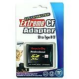 Adaptador de Tarjeta Komputerbay  SD/SDHC/MMC adaptador de alta velocidad para CompactFlash tipo II.