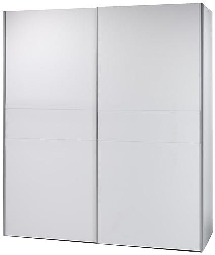 BEGA 58-301-17 Victor 2 Schwebeturenschrank Bauchbinde, circa 170 x 195 x 63 cm, weiß