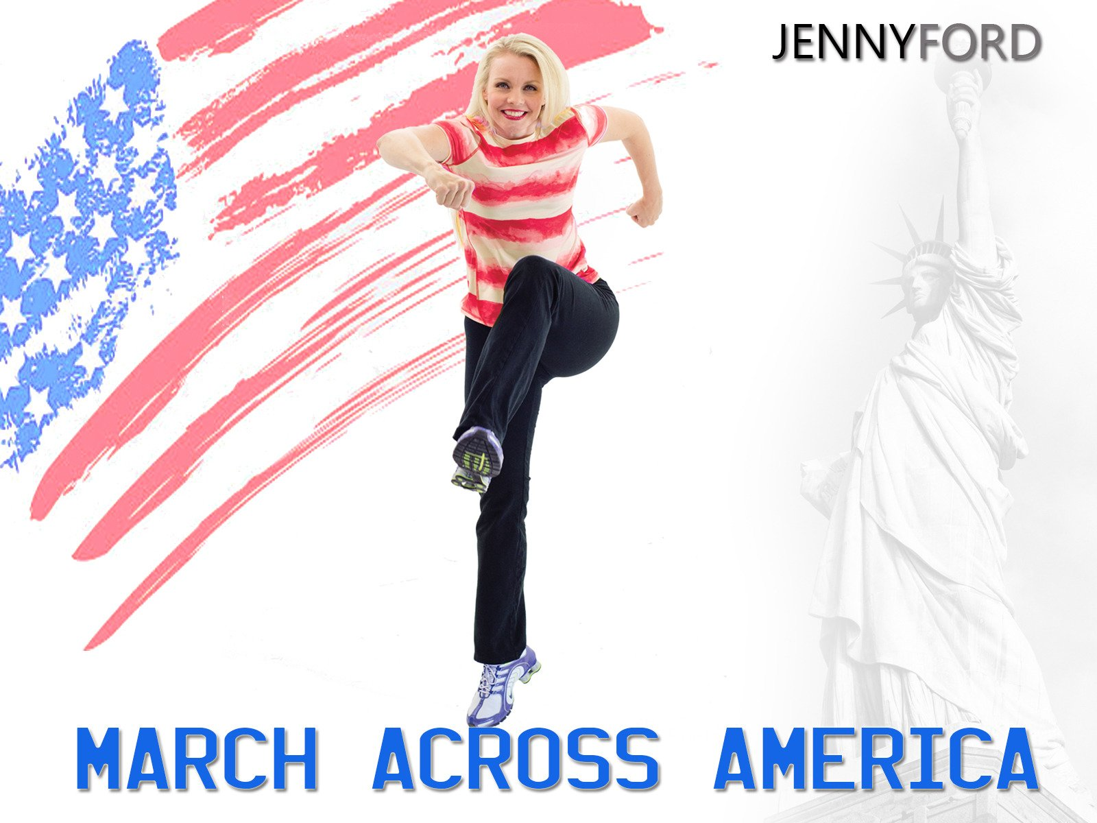 March Across America with Jenny Ford - Season 1