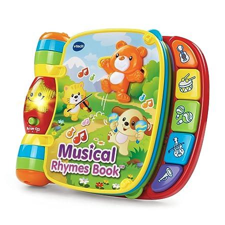 Vtech – Musical Rhymes Book – Do, Ré, Mi Super Livre Enchanté Version Anglaise
