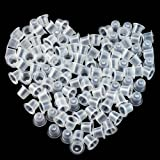 Wormhole Tattoo 500pcs Tattoo Ink Caps for Tattooing Tattoo Ink Cups Disposable Small Pigment Cups #9 Small (Tamaño: Small-500pcs)