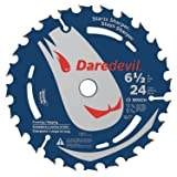 Bosch DCB624 6-1/2 In. 24 Tooth Edge Circular Saw Blade for General Purpose (Tamaño: 6-1/2