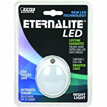 Feit Electric NL4/LED Eternalite 3-LED Modern Night Light with Sensor