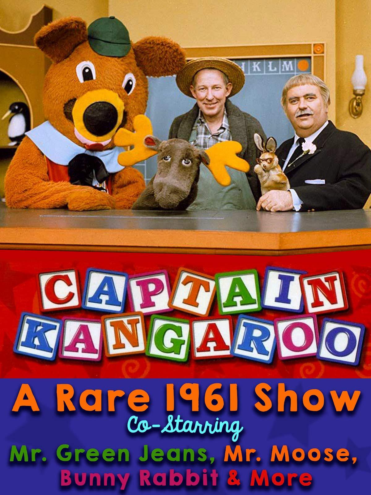 Captain Kangaroo - A Rare 1961 Show, Co-Starring Mr. Green Jeans, Mr. Moose, Bunny Rabbit & More