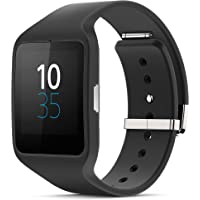Sony Mobile SWR50 SmartWatch 3 Fitness & Activity Tracker Wrist (Black)