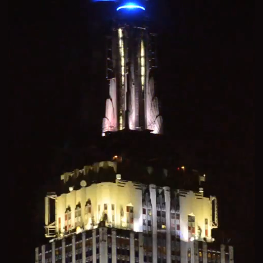 Empire State Building Light Show 2012