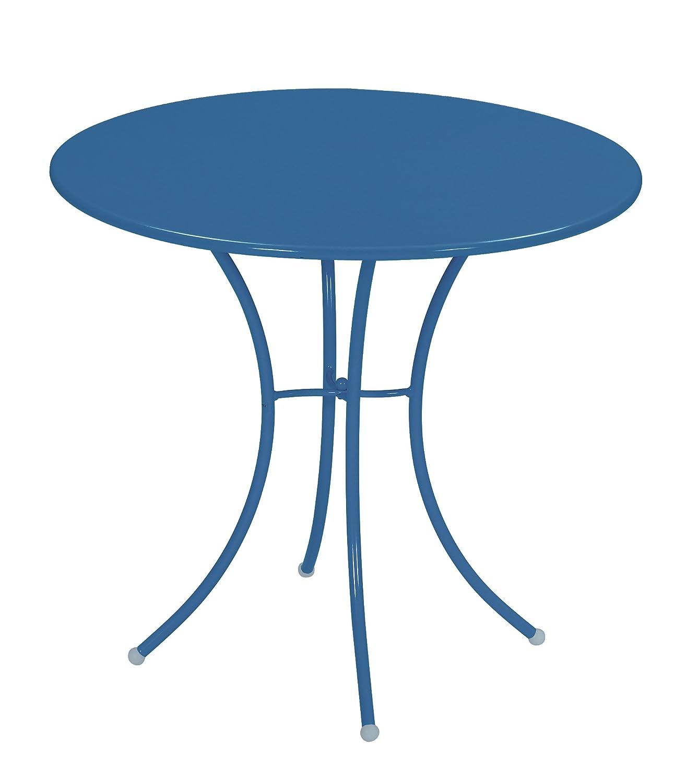 Emu 309066100 Pigalle Tisch 906, ø 80 cm, pulverbeschichteter Stahl, petrolblau online kaufen