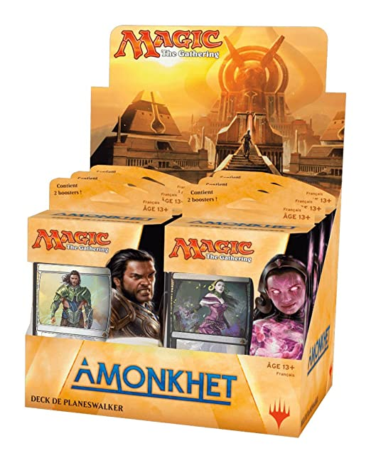 Magic The Gathering: Amonkhet Planeswalker Deck Francais - 1 Deck - Random selection