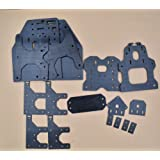 Jillier 1set 3D Printer Parts OOZNEST OX CNC Plate Aluminum Plate