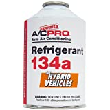 Interdynamics Certified A/C Pro Refrigerant 134a for Hybrid Vehicles (10 Ounces) (Tamaño: 12 Ounce)